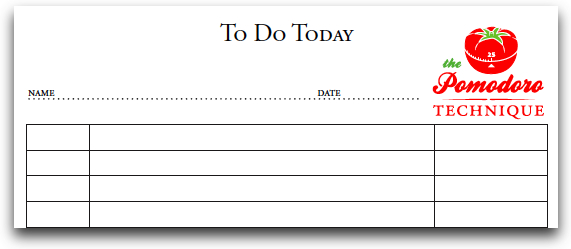 Pomodoro To-Do List