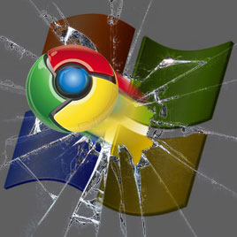 Google Chrome vs Microsoft Windows