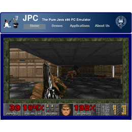 JPC Java x86 emulator