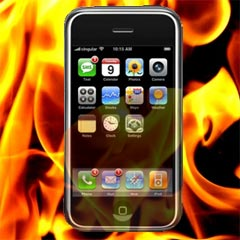 Apple iPhone fire