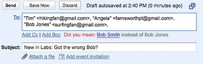 email embarrassment