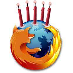 Firefox Birthday