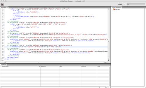 Code workspace