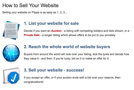 The only other content differentiating between auction and private sale