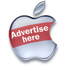 Apple ad-supported revenue patent