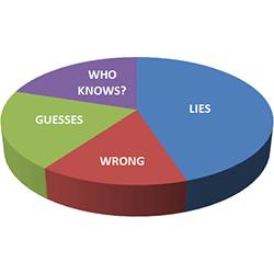 web site statistics pie chart