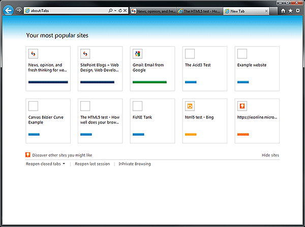 IE9 screenshot 2