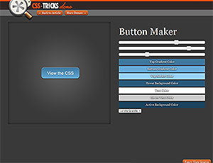 CSS Tricks Button Maker screenshot