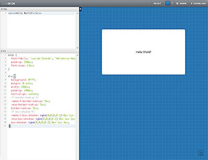 CSS Desk screenshot