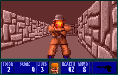 Wolfenstein 3D browser version