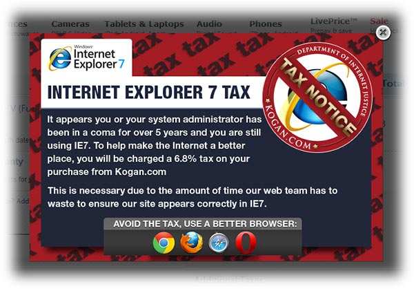 IE7 tax