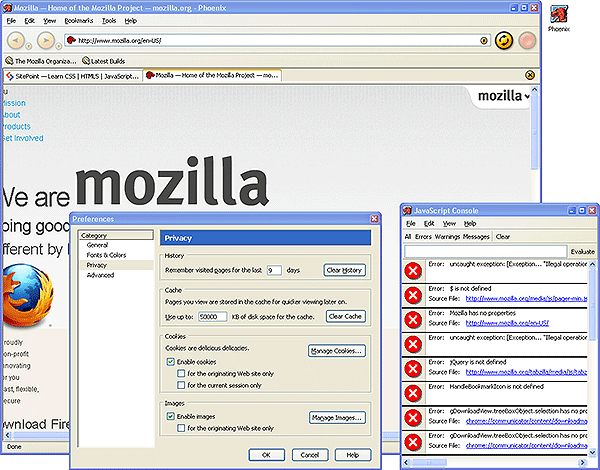 Mozilla Phoenix