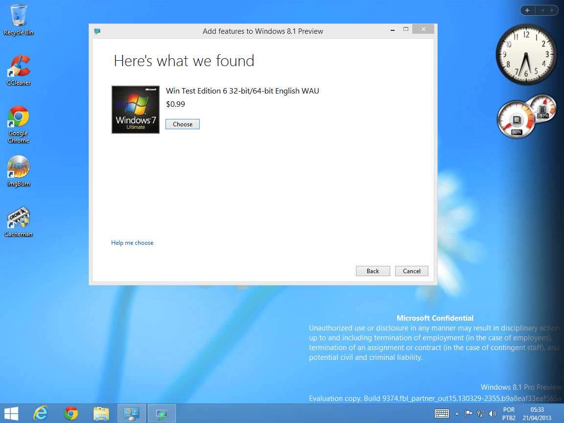 Windows 8 and Start button