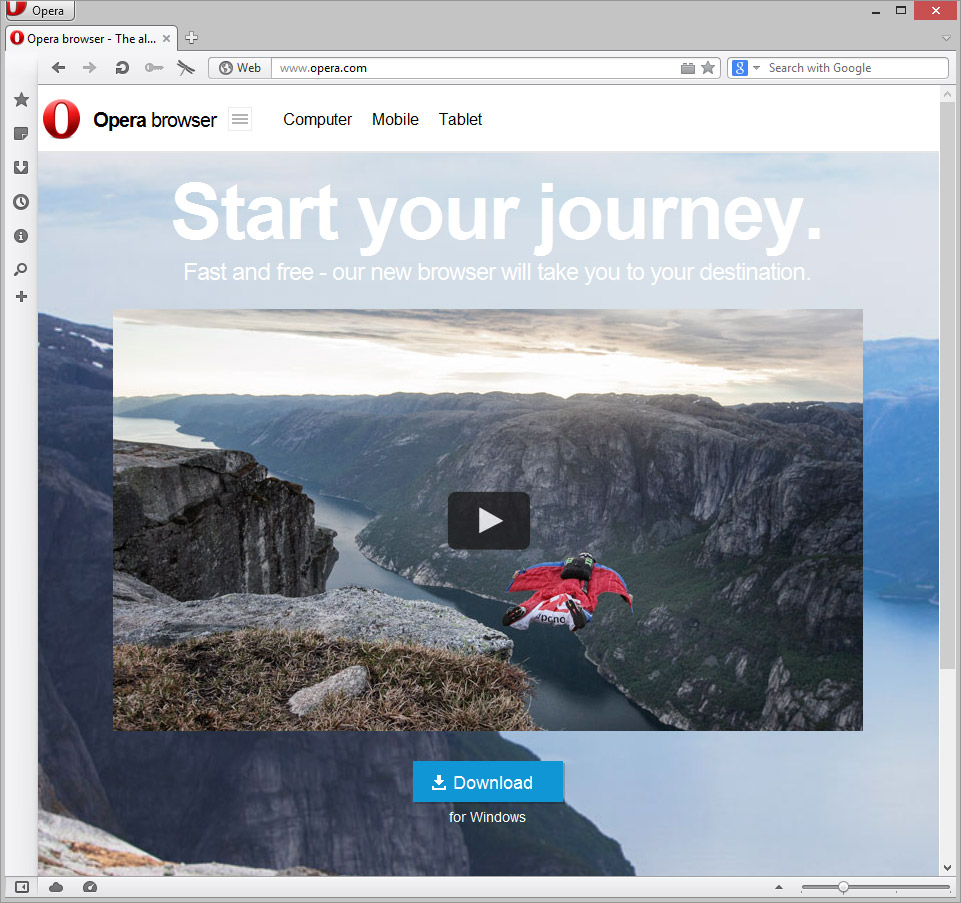 Opera 15 is Launched — SitePoint