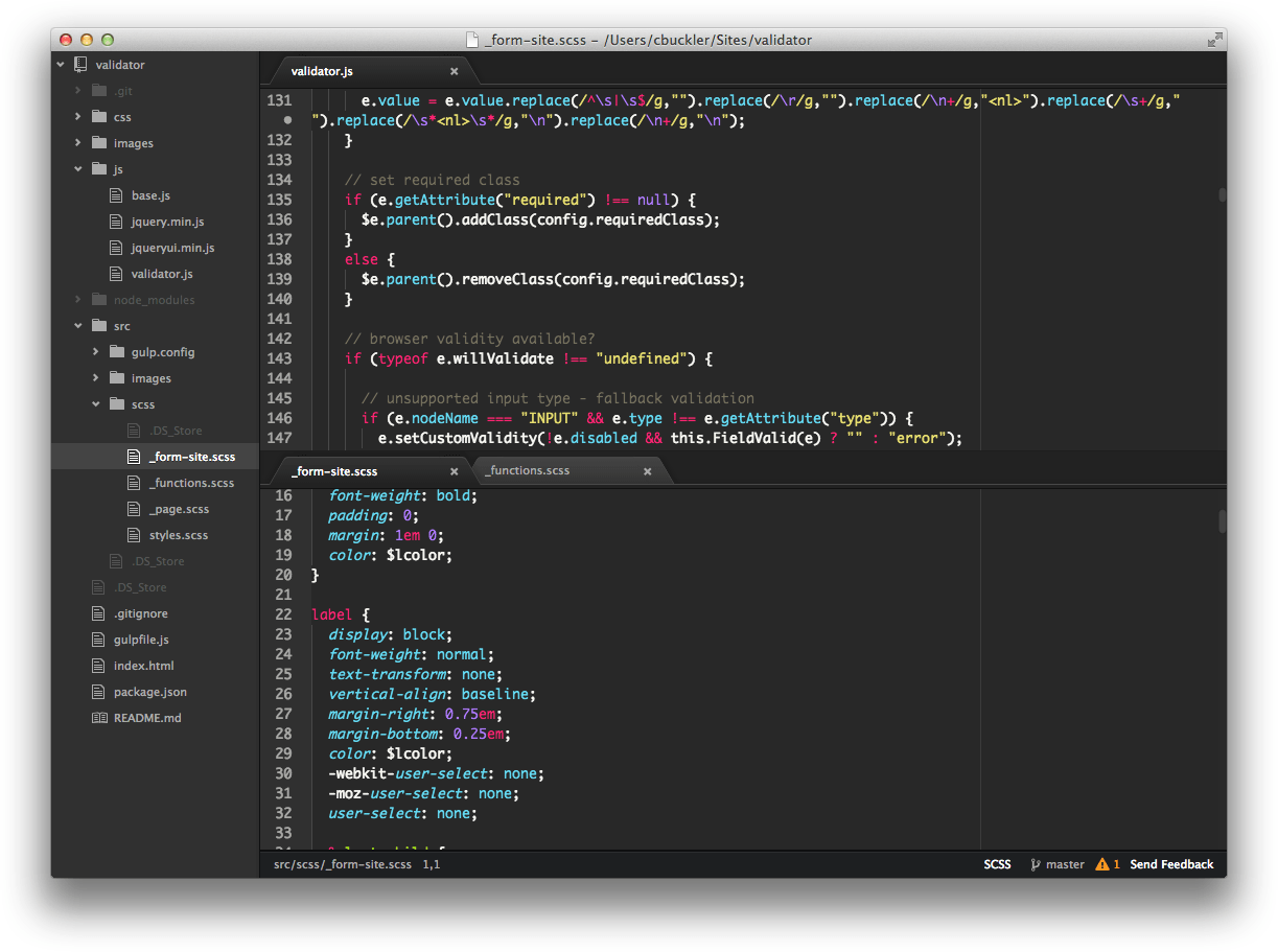 writing a text editor in javascript
