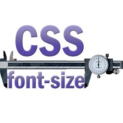 CSS font sizing