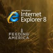 IE8 Feeding America