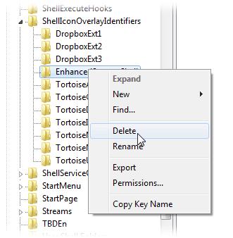 registry editing