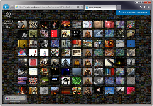 Flickr Explorer