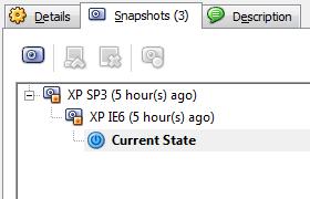 VirtualBox Snapshot 2