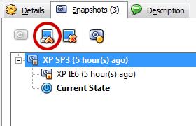 VirtualBox Snapshot 3