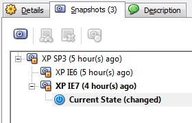 VirtualBox Snapshot 4