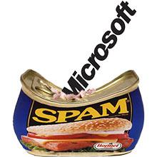 Microsoft hits spam