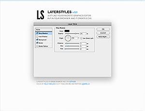 LayerStyles screenshot