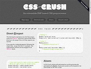 CSS-Crush screenshot