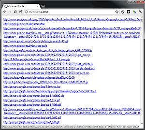 Google Chrome Power Options